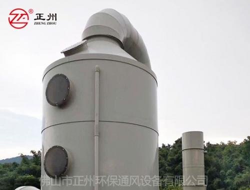 广东尚雅加树脂废气处理工程