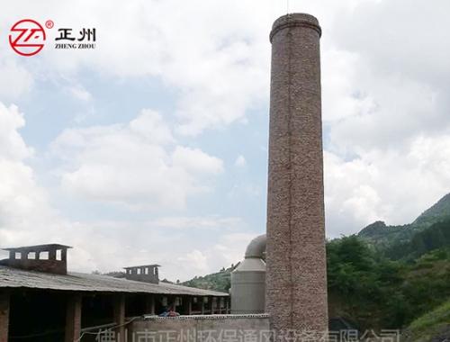 贵州凯新砖厂除尘脱硫工程