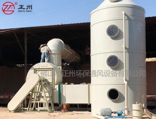 四川红鑫砖厂除尘脱硫工程