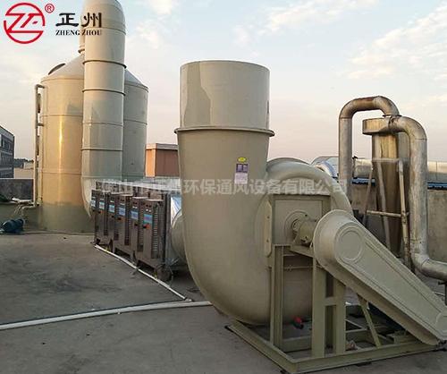 广州优晶玻璃厂VOC工程2