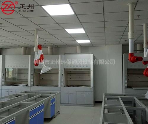 宁夏检验局实验室废气通风工程1