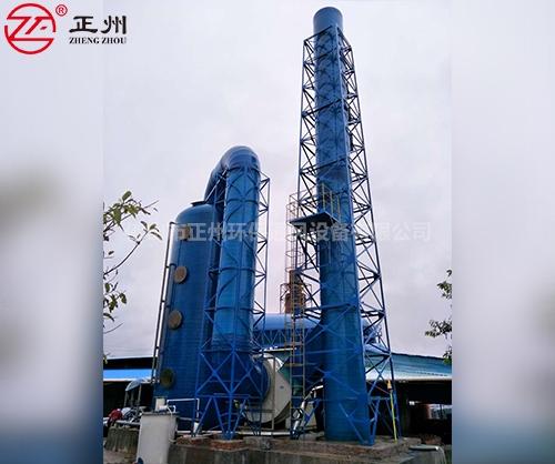 东莞马莉砖厂除尘脱硫工程2