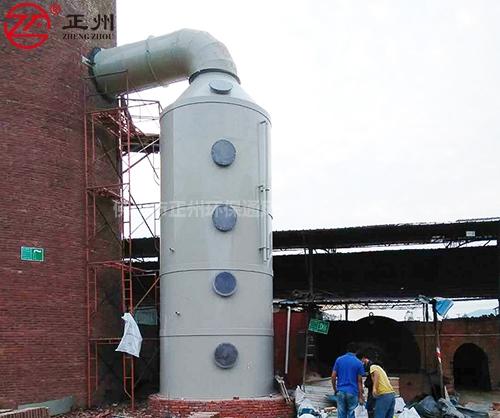 高明福鑫砖厂除尘脱硫工程