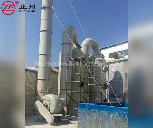 广西陆川恒泰金属锅炉尾气脱硫工程