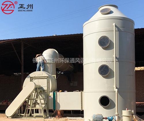 四川攀枝花砖厂除尘脱硫工程