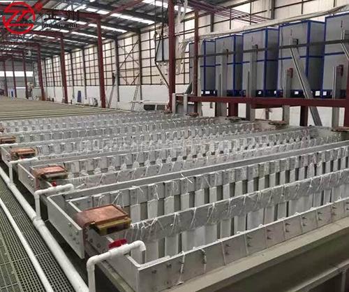 江门志远电镀槽生产线